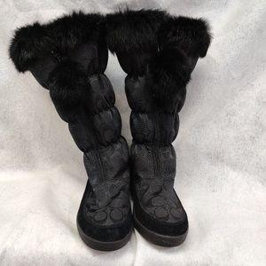 "Women's Coach ""Theona"" Boots Size 8B"